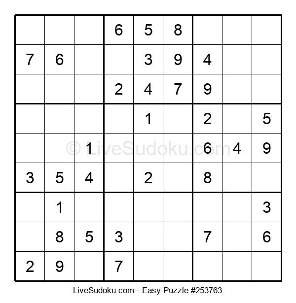 Beginners Puzzle #253763