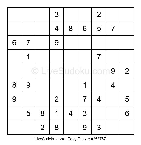 Beginners Puzzle #253767