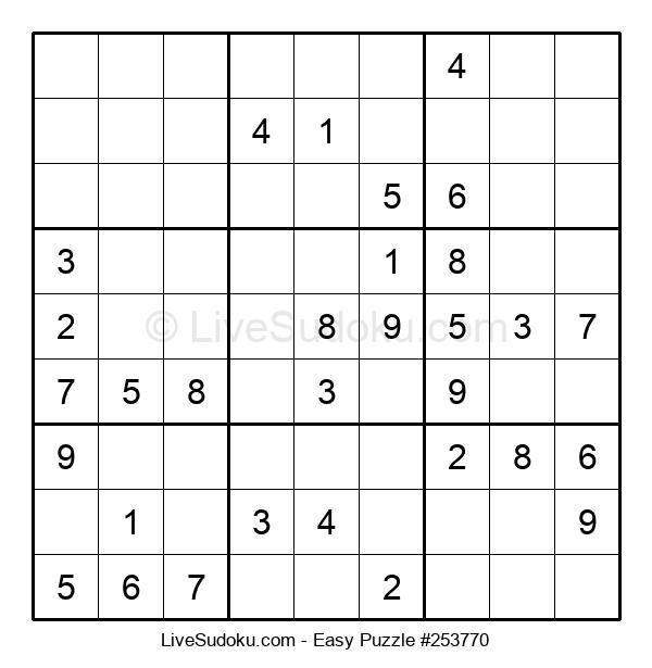 Beginners Puzzle #253770