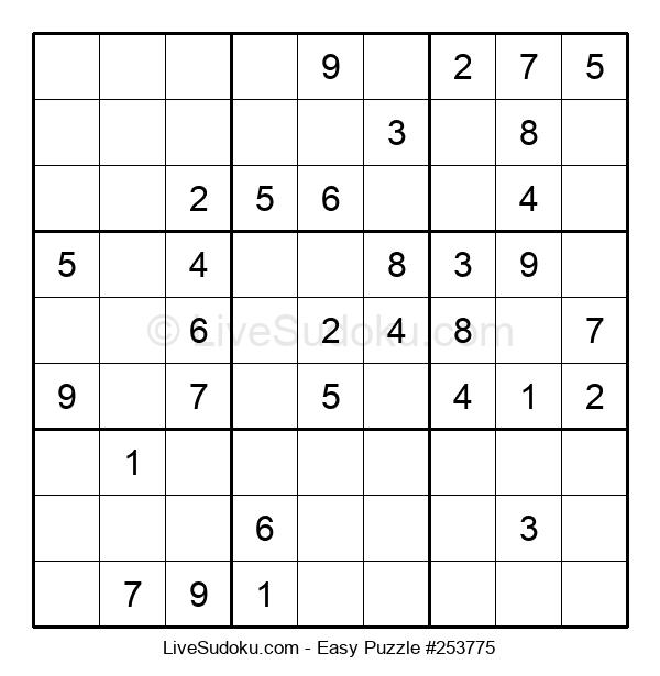 Beginners Puzzle #253775