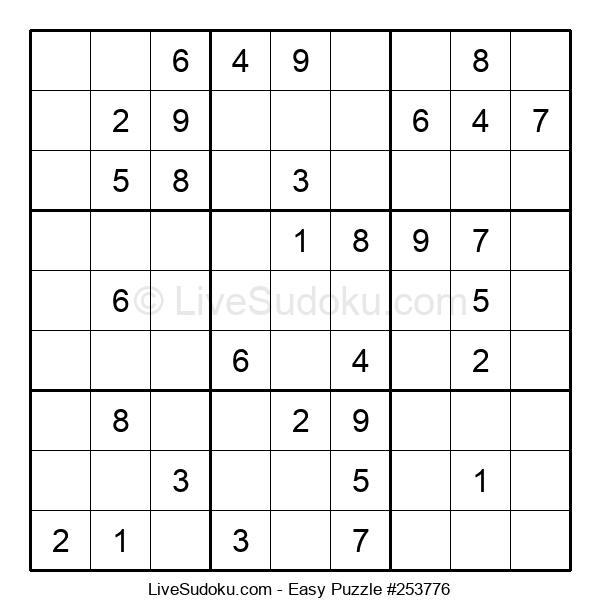 Beginners Puzzle #253776