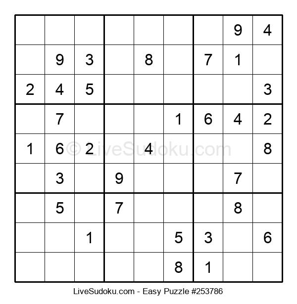 Beginners Puzzle #253786