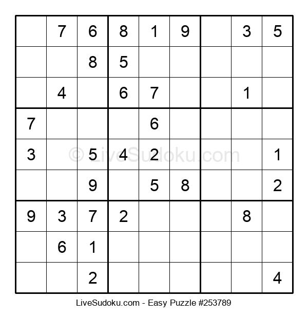 Beginners Puzzle #253789