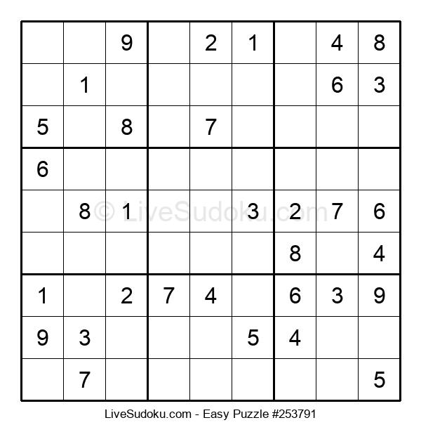 Beginners Puzzle #253791