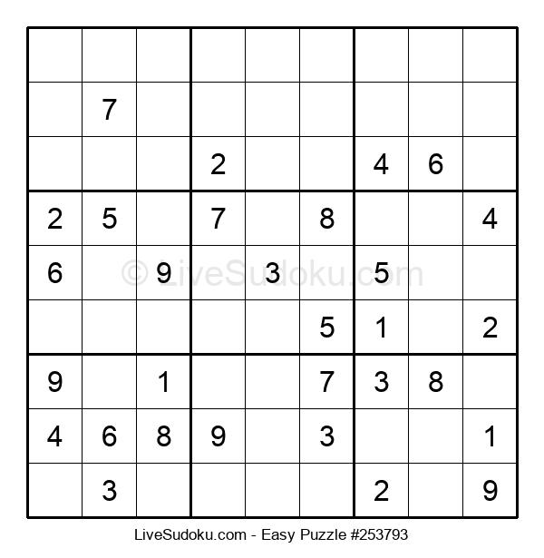 Beginners Puzzle #253793