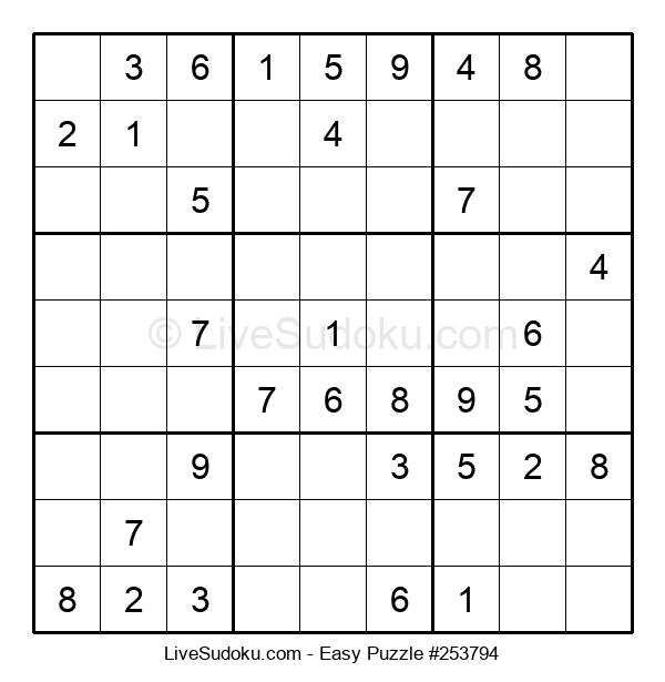 Beginners Puzzle #253794