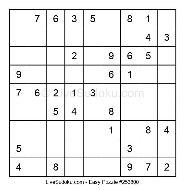 Beginners Puzzle #253800