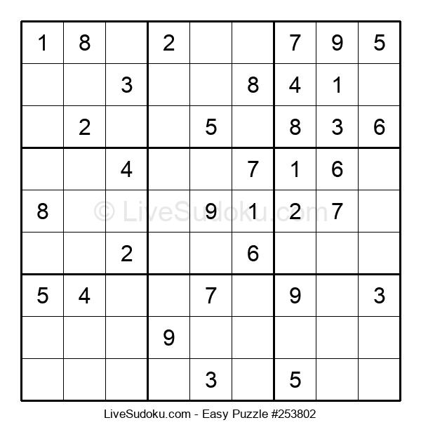 Beginners Puzzle #253802