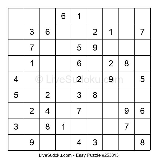 Beginners Puzzle #253813