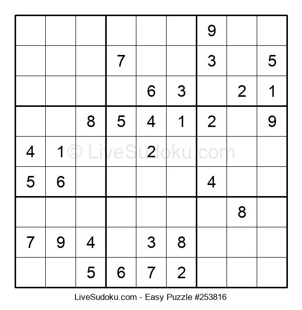 Beginners Puzzle #253816