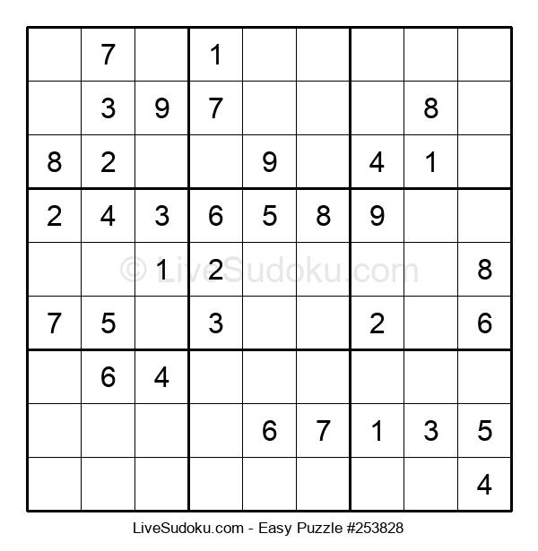 Beginners Puzzle #253828