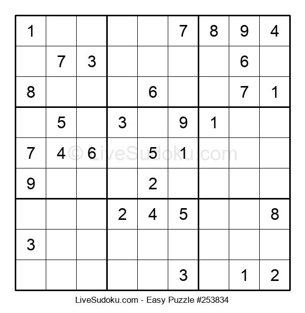 Beginners Puzzle #253834