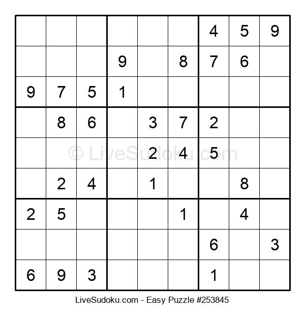 Beginners Puzzle #253845