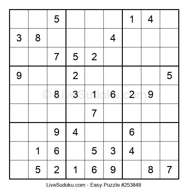 Beginners Puzzle #253848