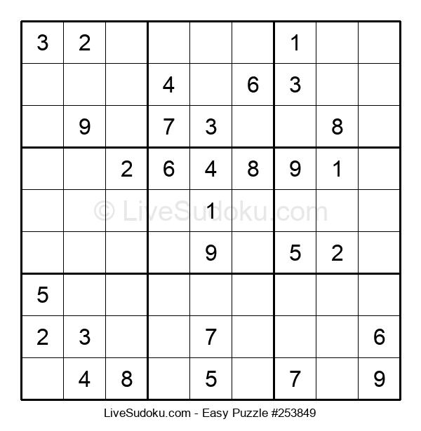 Beginners Puzzle #253849