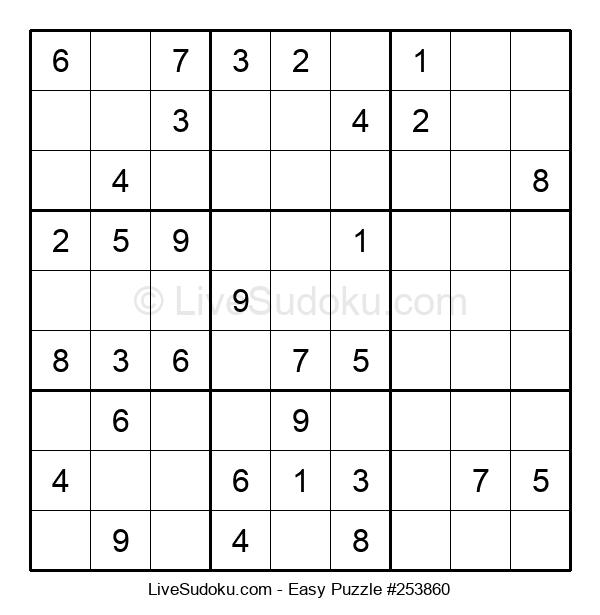 Beginners Puzzle #253860