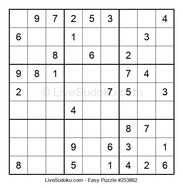 Beginners Puzzle #253862