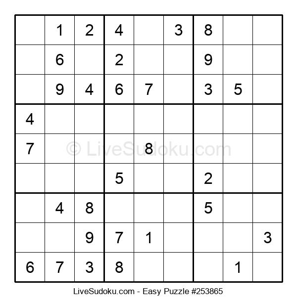 Beginners Puzzle #253865