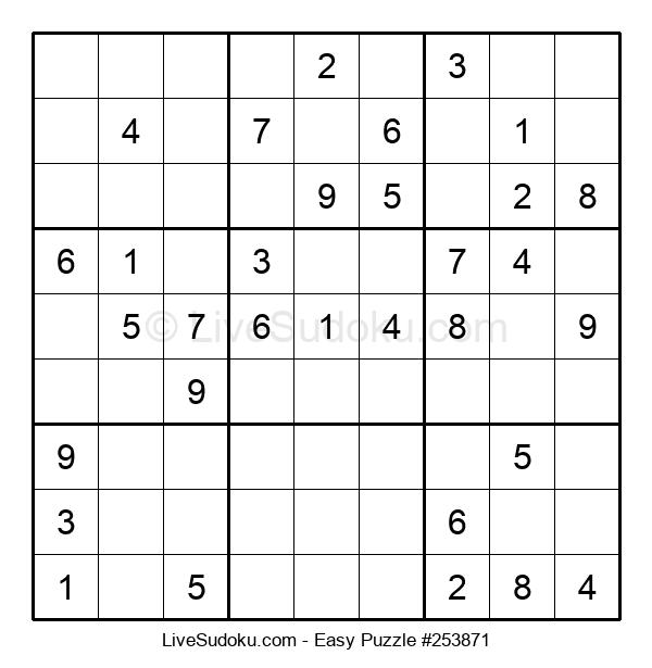 Beginners Puzzle #253871