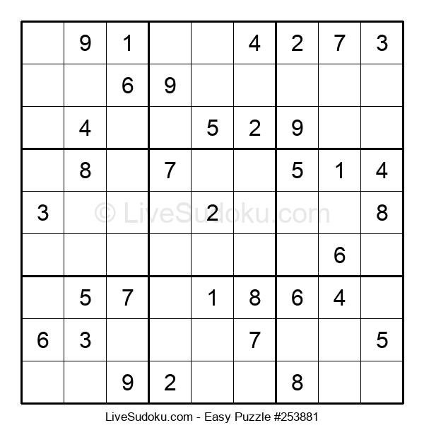 Beginners Puzzle #253881