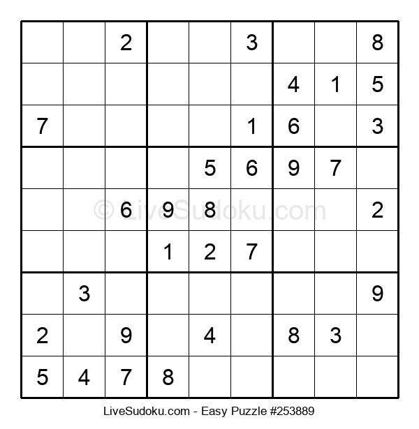 Beginners Puzzle #253889