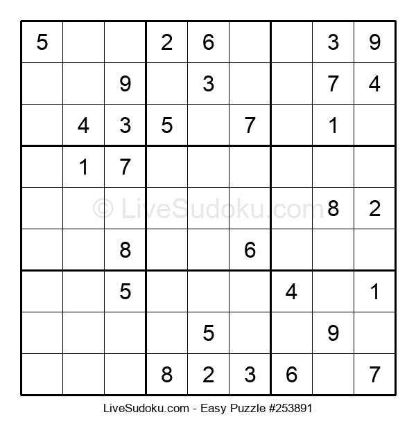 Beginners Puzzle #253891