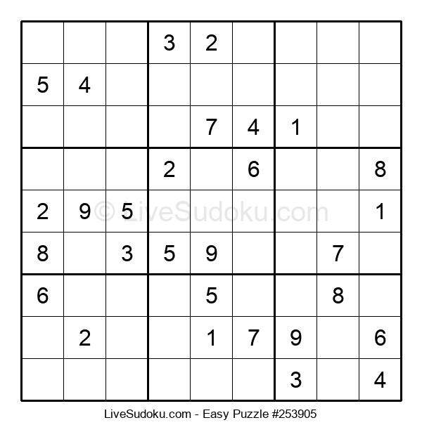 Beginners Puzzle #253905