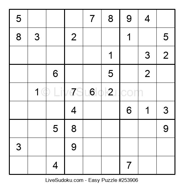 Beginners Puzzle #253906