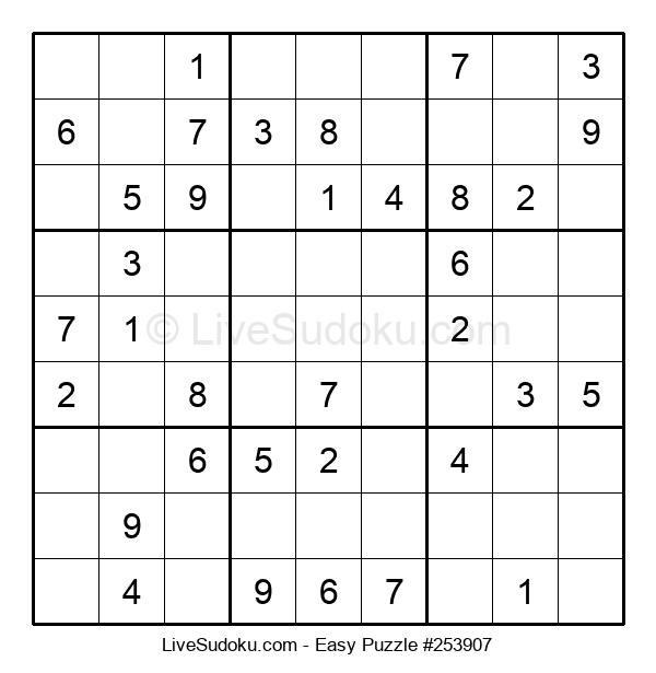 Beginners Puzzle #253907