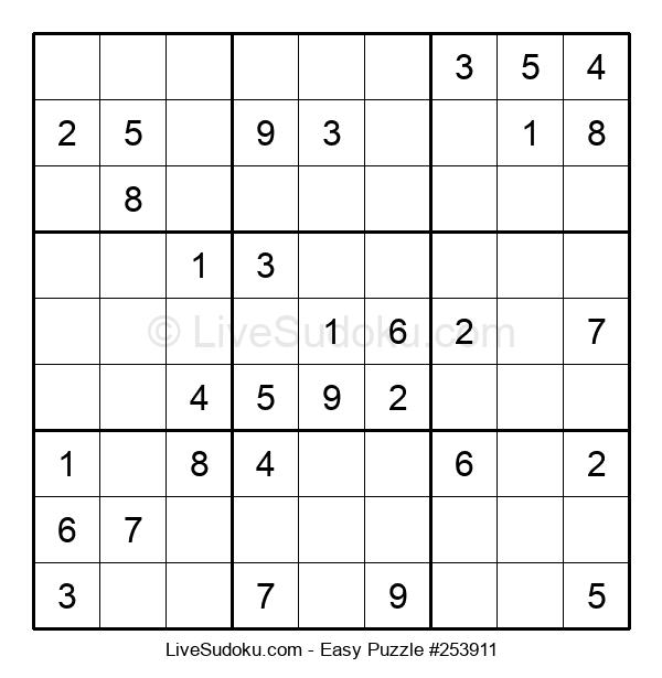 Beginners Puzzle #253911