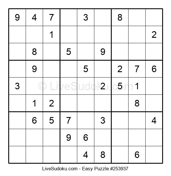 Beginners Puzzle #253937