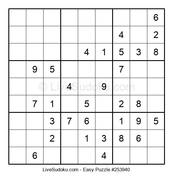 Beginners Puzzle #253940
