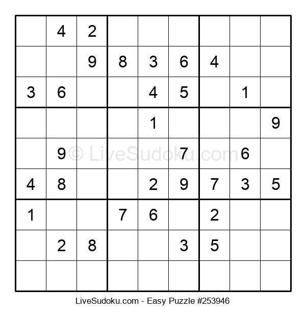 Beginners Puzzle #253946