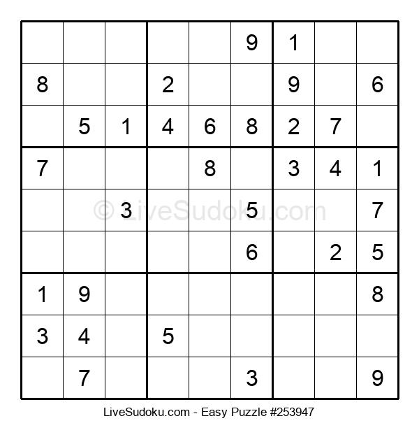 Beginners Puzzle #253947