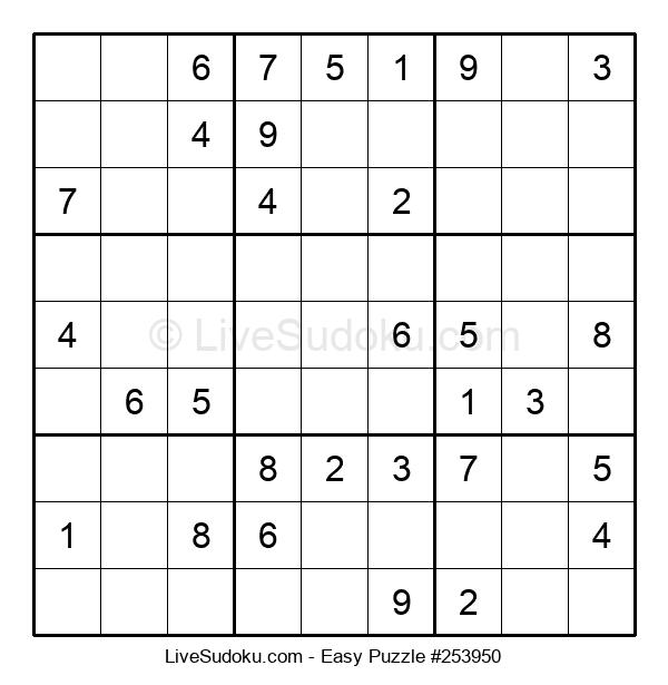 Beginners Puzzle #253950
