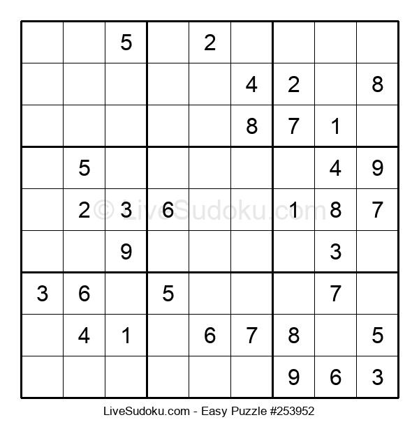 Beginners Puzzle #253952