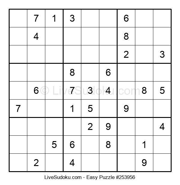 Beginners Puzzle #253956
