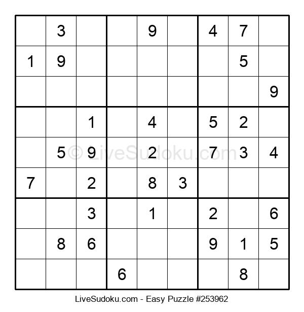 Beginners Puzzle #253962