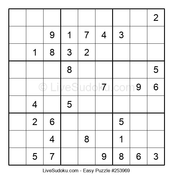 Beginners Puzzle #253969