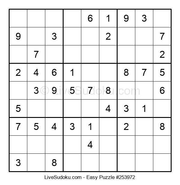 Beginners Puzzle #253972