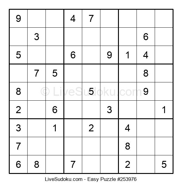 Beginners Puzzle #253976