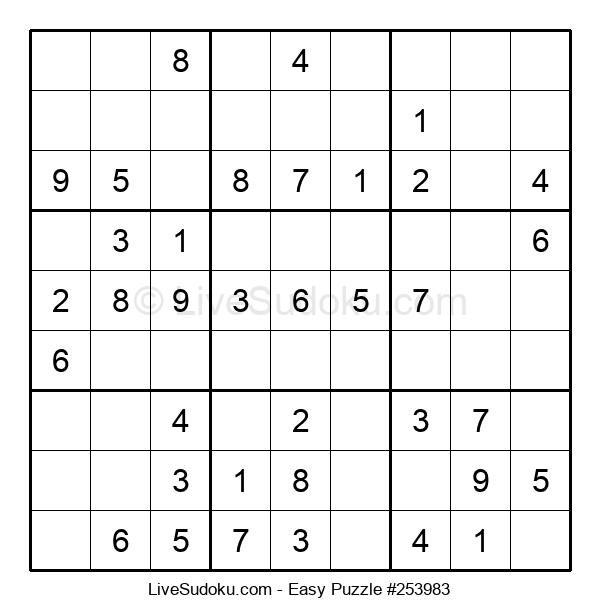 Beginners Puzzle #253983