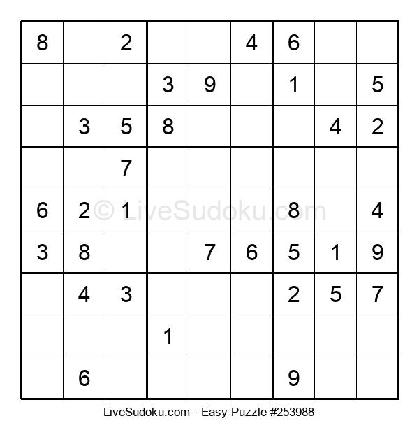 Beginners Puzzle #253988
