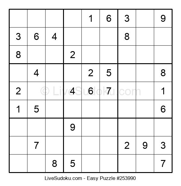 Beginners Puzzle #253990