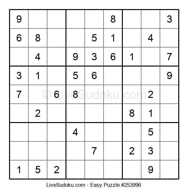Beginners Puzzle #253996