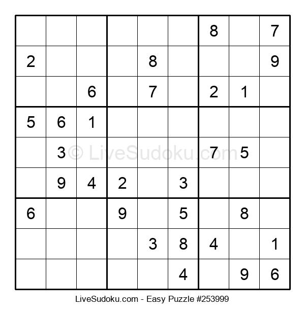 Beginners Puzzle #253999