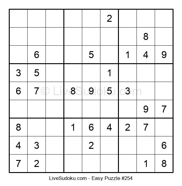 Beginners Puzzle #254