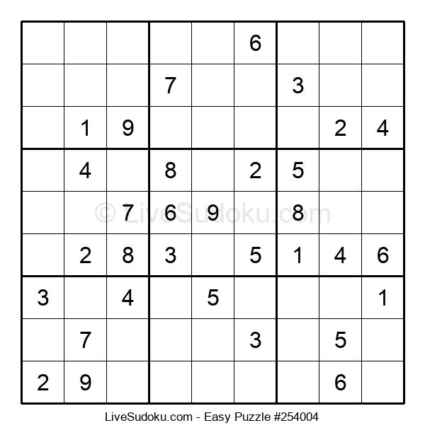 Beginners Puzzle #254004