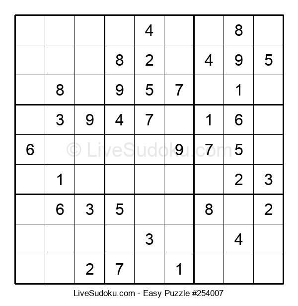 Beginners Puzzle #254007