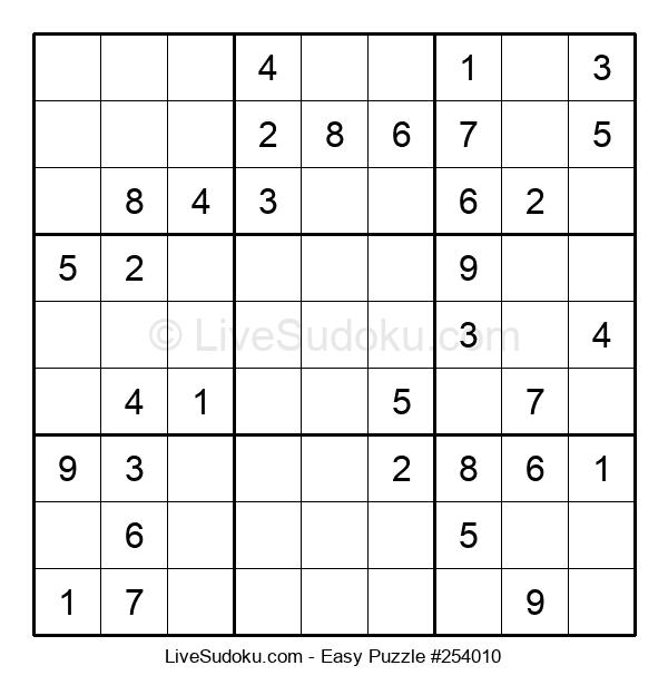 Beginners Puzzle #254010